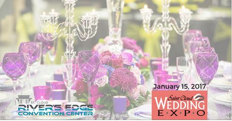 Mark your calendars. The Saint Cloud Wedding Expo returns to the River's Edge Convention Center in just over a month on January 15th! The event has been Central Minnesota's premiere wedding show for over 25 years. Each semi-annual show brings in over 90 vendors from across Minnesota.  For more information, visit: https://www.scweddingexpo.com/