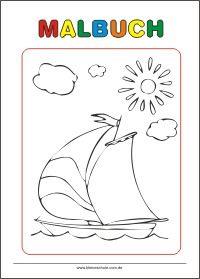 kostenlose malvorlage zum ausdrucken - kleine schule | kostenlose malvorlagen, malvorlagen