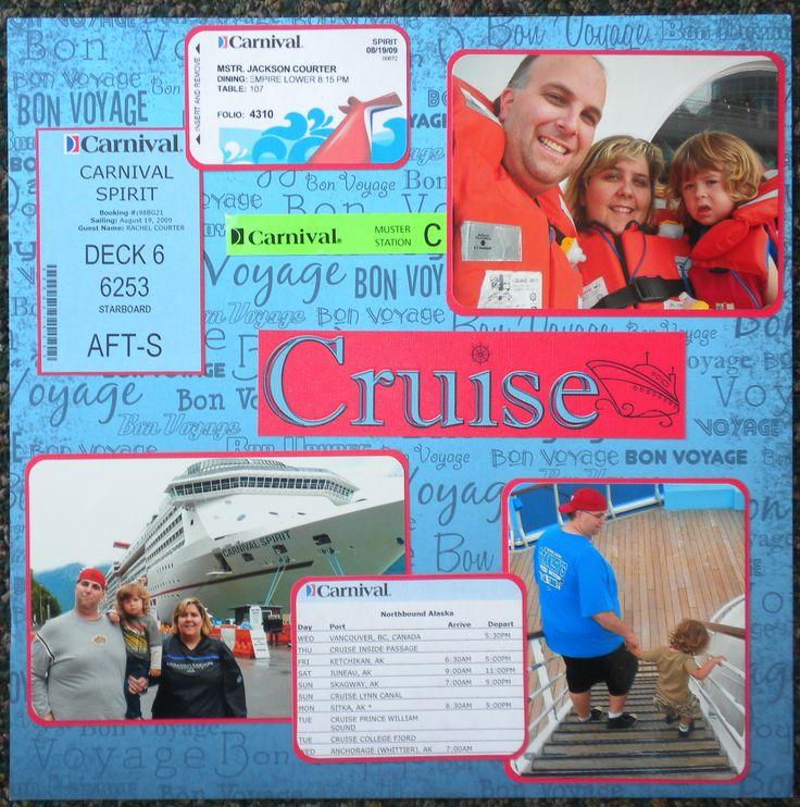 Cruise - Scrapbook.com.   Including tickets
