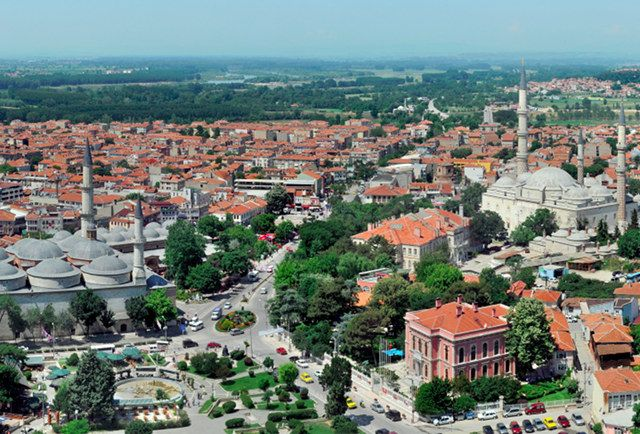 Edirne , another early capital of the Ottoman Empire, was Editne, known as Adrianople, after the Roman Emperor Hadrian, until the 1930s. Located near the border with Greece and Bulgaria,