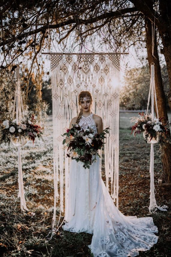 Large Macrame Wedding Backdrop  Check out this item in my Etsy shop https://www.etsy.com/listing/520692089/large-macrame-wedding-backdrop