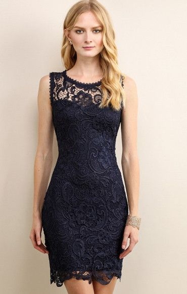 This dress is a safe bet for date night perfection. The only risk you run is of wanting to wear it every single night out! Chock full of adorable lace this dress is sure to leave him breathless. - 100