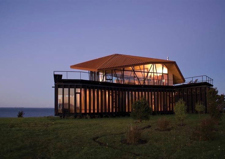 Punta Chillén House, Chiloé, Chile  dRN Arquitectos