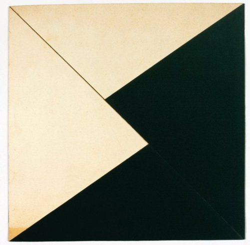 Lygia Clark  Planos em Superficie Modulada, 1957  Collage of card  Unframed: 28.3 x 28.3 cm