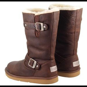 Ugg Australia Kensington Leather Buckle Boots
