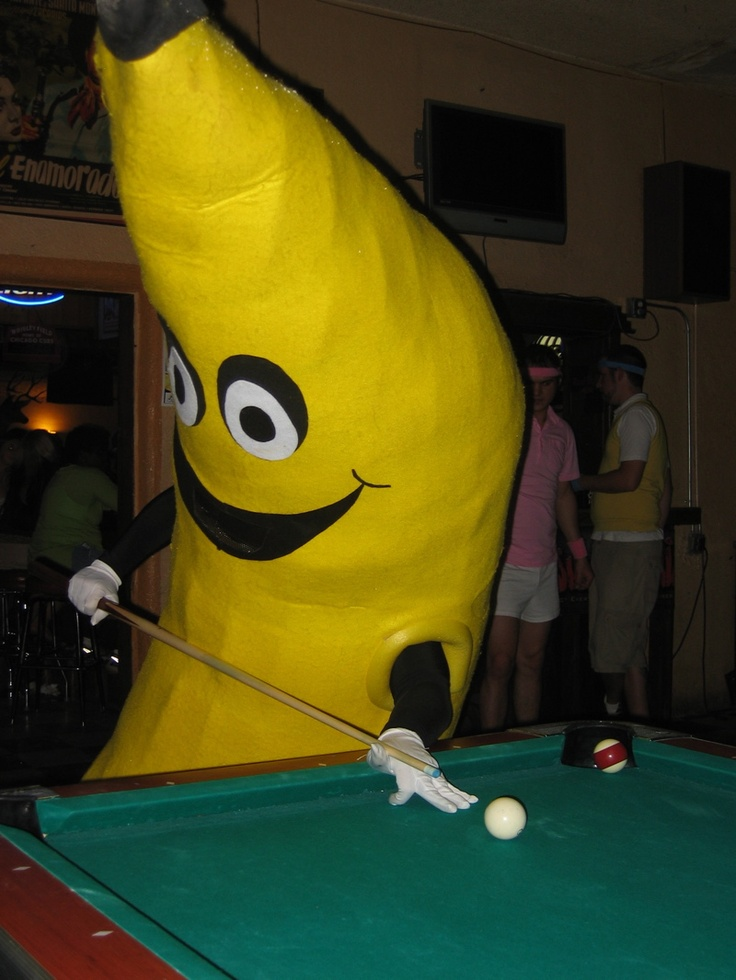 #Banana shooting a game  #bananacostume #illegalsubstance