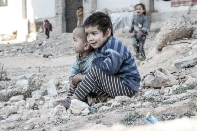 Musim Dingin jadi Ancaman Bagi Anak-Anak di Wilayah Konflik