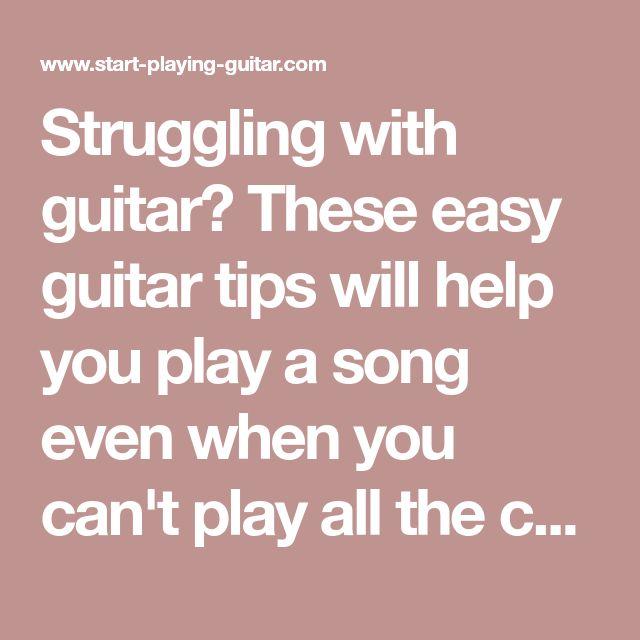 217 Best Guitar Images On Pinterest Guitar Chords Guitar Classes