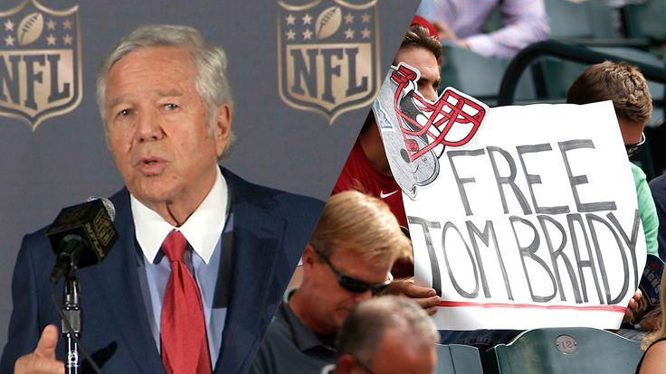 Robert Kraft's decision and its potential impact on Tom Brady's suspension