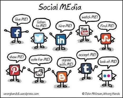 Social Media requests. Very funny!
