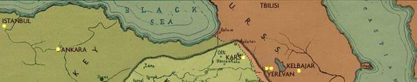 aka KURDISTAN   MAP OF THE KURDISH REGION