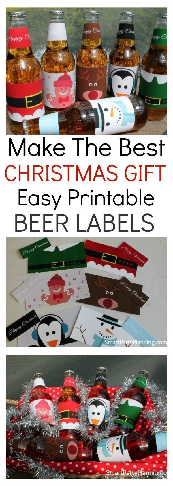 Printable beer labels are the perfect gift idea for your man this Christmas. It is quick and easy to prepare and you know it is going to be something he will love. For a cost effective, easy, different gift idea this definitely ticks all the box's. Alternatively, they would look fantastic at a Christmas party or to enjoy a cool beverage on Christmas day. Either way, these cute Christmas beer labels will be sure to be a hit. #Christmas #Beer #Printable #Mensgift