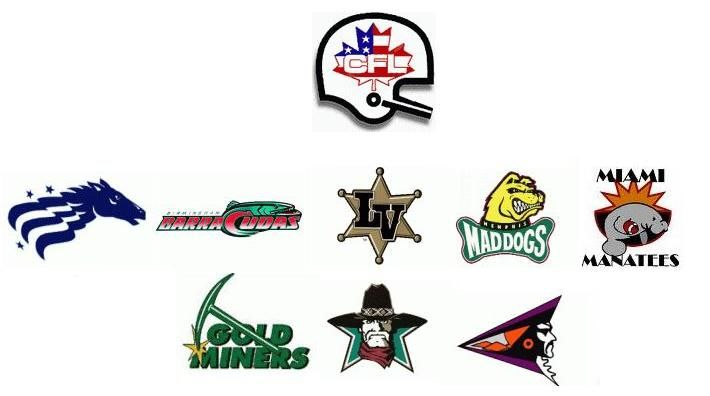 Here is a short list of U.S. CFL teams