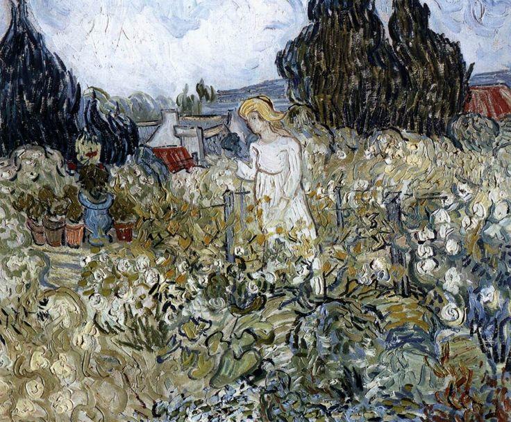 Vincent van Gogh | Marguerite Gachet in the Garden 1890,