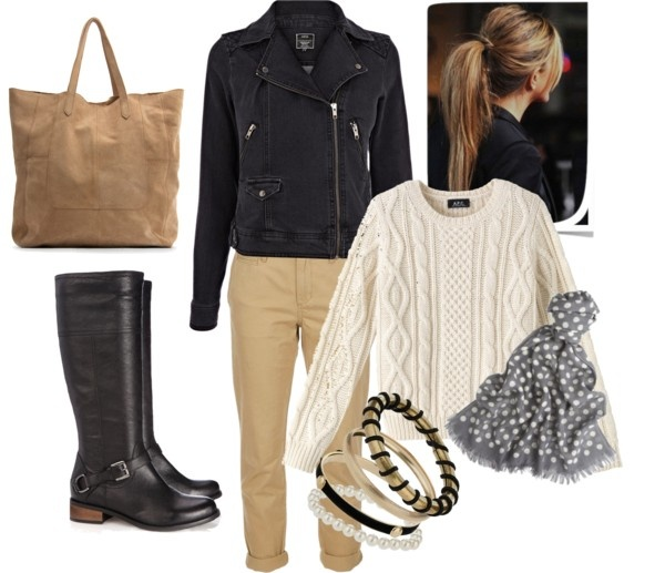 """""""Black Camel & Grey""""  Outfit"""
