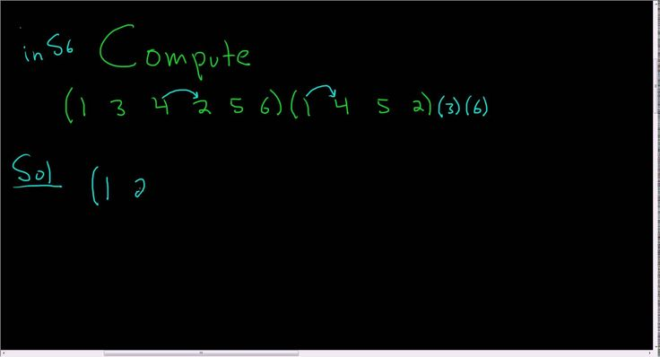 Multiplication of Cycles in the Symmetric Group S_6