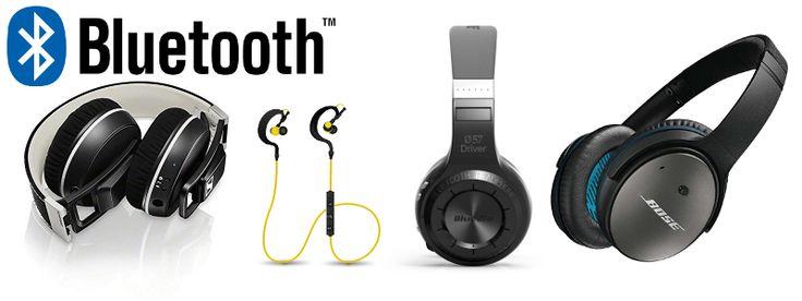 Top Bluetooth Headphones Header image.
