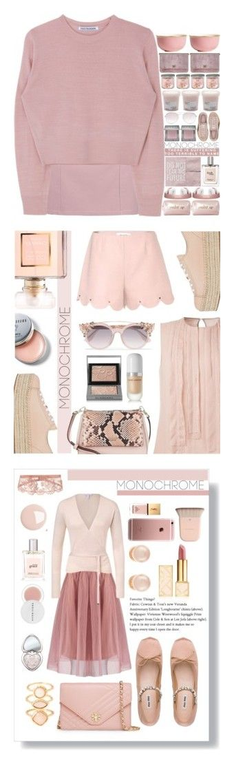 """""""Winners for Color Me Pretty: Head-to-Toe Pink"""" by polyvore ❤ liked on Polyvore featuring Boohoo, Urban Decay, Tom Ford, Puma, philosophy, Neiman Marcus, Yankee Candle, H&M, monochrome and monochromepink"""