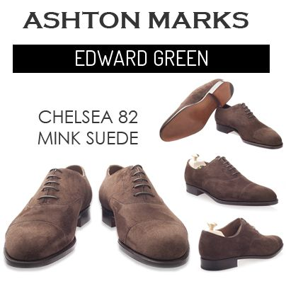 All designs of Chelsea 82 Mink Suede at AshtonMarks Online store #edwardgreen More info visit:http://bit.ly/1o0n7nf