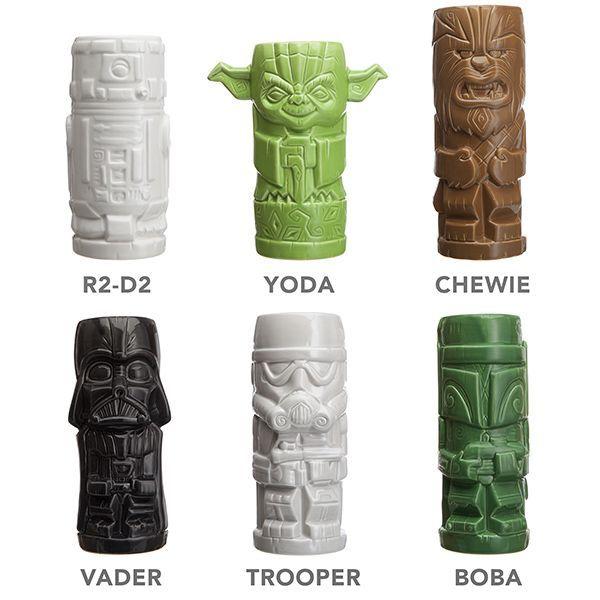 Os enseñamos las tazas Stars Wars al estilo Tiki   Fusion Freak