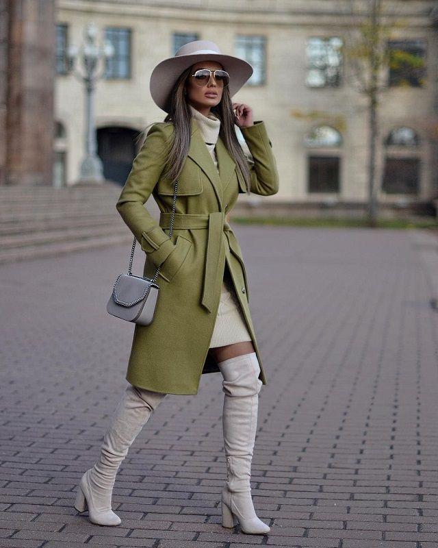 Tendencias Color: Guacamole. Lo Mejor de Street Style | Ropa de moda, Ropa  cara, Ropa de invierno