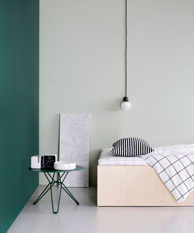 Deko Magazine, Kurronen Deko, Green Deko, Wandgestaltung Grün, Gut  Zusammen, Wall Deko, Harmonieren, Interiorspiration Schlafzimmer, Interior  Design ...