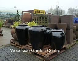 Large Black Garden Pots   Google Search