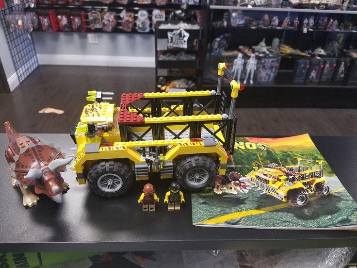 Lego Dino Triceratops Trapper 5885 100% Complete