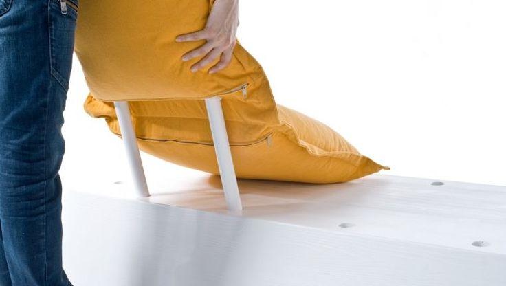 Flexible Futuristic Furniture : futuristic furniture design - diy couch