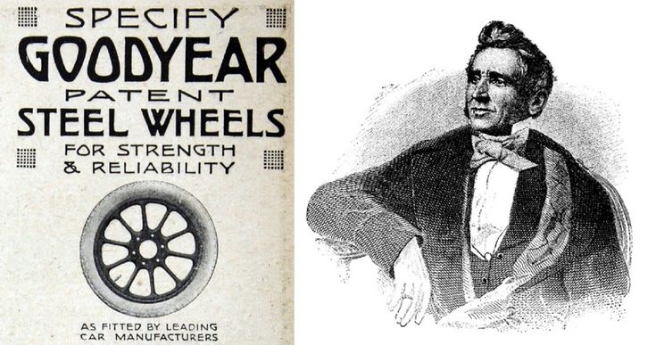 Una fascinante casualidad hizo que Goodyear vulcanizara caucho en el siglo XIX cambiando para siempre los neumáticos