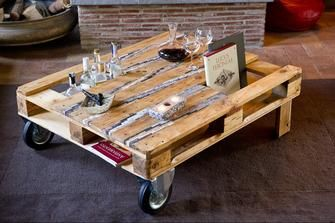 Come creare un tavolino con i pallet