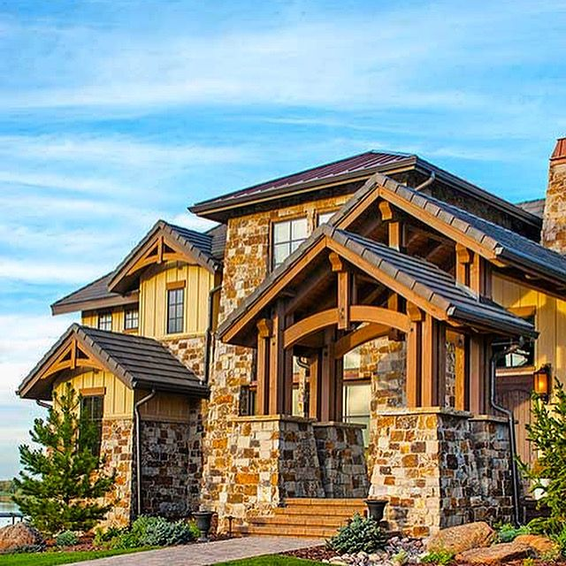Mountain Craftsman House Plans: 262 Best Images About Rugged And Rustic House Plans On