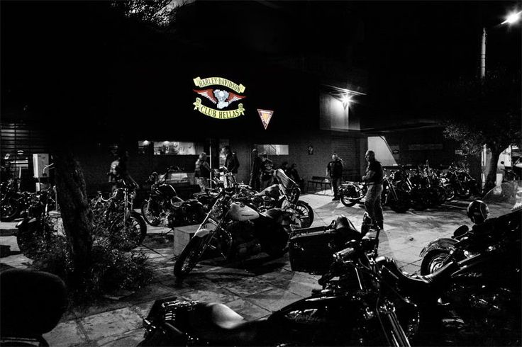 HDCH events , Harley Davidson Club Hellas Clubhouse