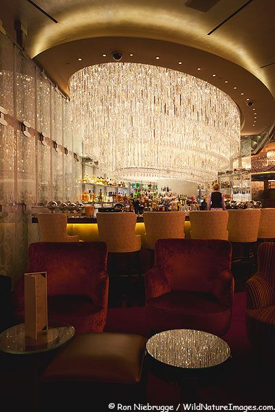 Chandelier Bar at the Cosmopolitan in Las Vegas. Seriously, can this be my house!!?