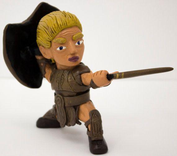 Spartan Warrior Achilles's by LightningSculpts on Etsy