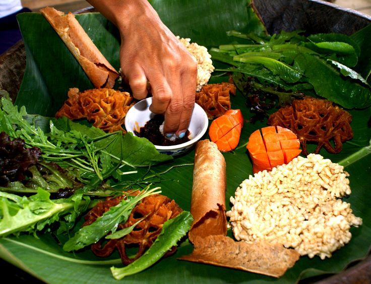 A yummy (ricey) lunch at the Rice Is Life experience in Luang Prabang, Laos