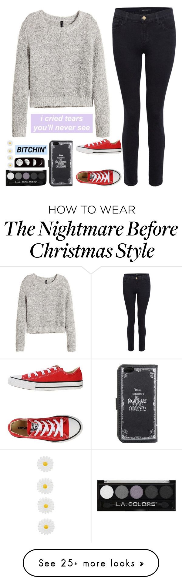 """""""Untitled #518"""" by chill-outfits on Polyvore featuring H&M, J Brand, Converse and Accessorize"""