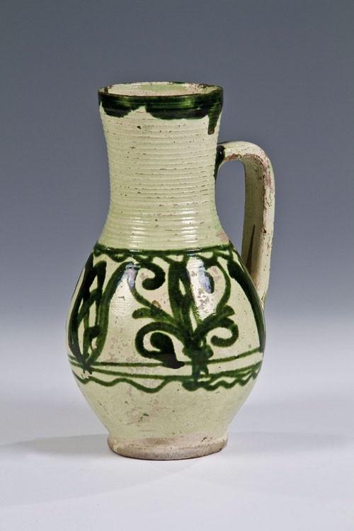 Saxon jug from Homoróddaróc (Draas, Drăușeni), Kingdom of Hungary / Transylvania, 1780.    © 2013 Auktionshaus Dr. Jürgen Fischer GmbH & Co. KG, Heilbronn