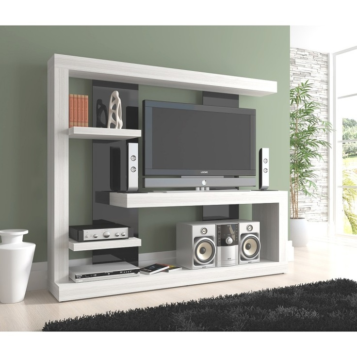 17 best ideas about centros de entretenimiento modernos on for Muebles para television modernos