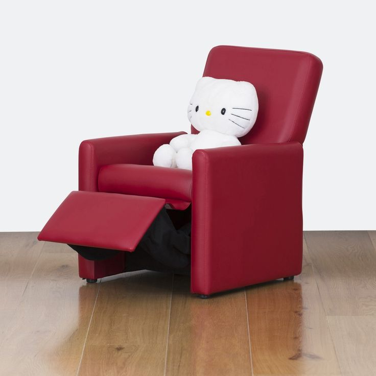 Watoto Kids Recliner Chair - Fire Engine Red | $125.00