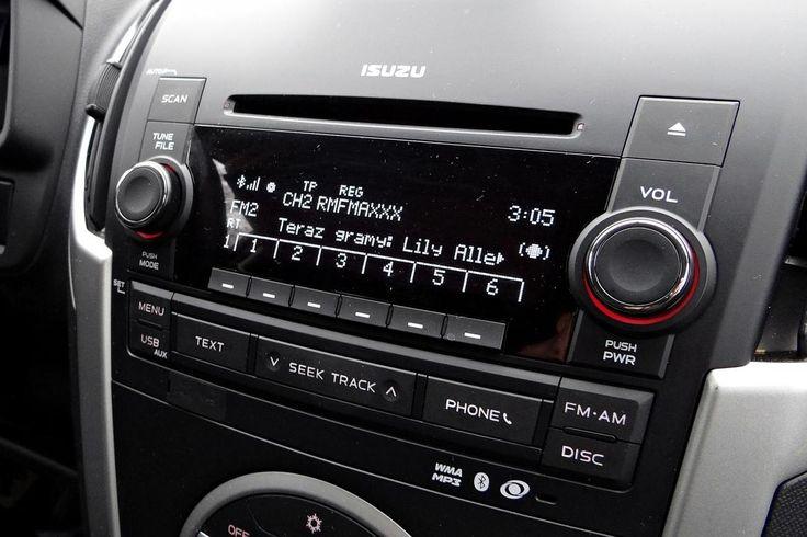 Isuzu D-MAX - konsola