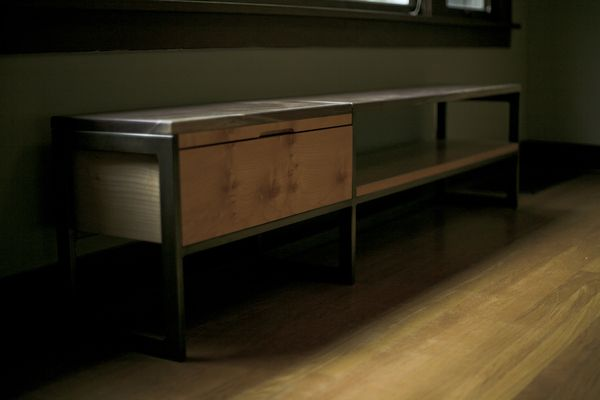 The Weigel Bench by Square Form, via Behance - about as nice a bench as you're likely to find in your lifetime