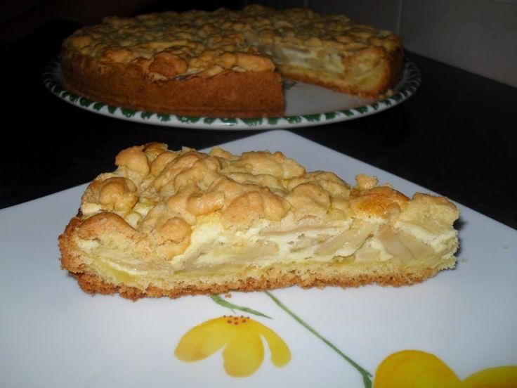 Otthoni sütés-főzés: Habkönnyű almás sütemény  Nagyon szeretjük ezt a s...