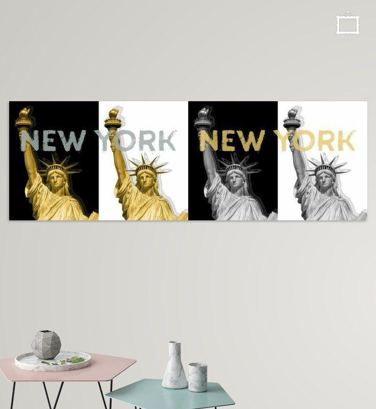 POP ART Freiheitsstatue | New York New York | Panorama von Melanie Viola  #wandbild #wohnen #kaufen #Fotografie #Sehenswürdigkeiten #Ort #Wahrzeichen  #Architektur #Fotografien #Reise #USA #NewYork #Freiheitsstatue #Kunst #Grafikkunst #dekorativ #home #decor #shopping #wallart #prints #photography #sights #landmarks #city #cityscape #architecture #travelling #shopping #art #graphicart #modern #decorative #statueofliberty #Panorama #popart