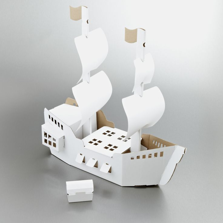 best 25 cardboard pirate ships ideas on pinterest kids pirate ship pirate ship craft and. Black Bedroom Furniture Sets. Home Design Ideas