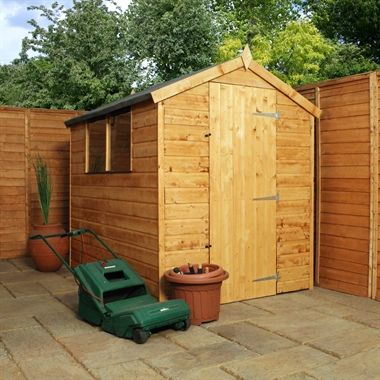 7x5 norfolk apex shed