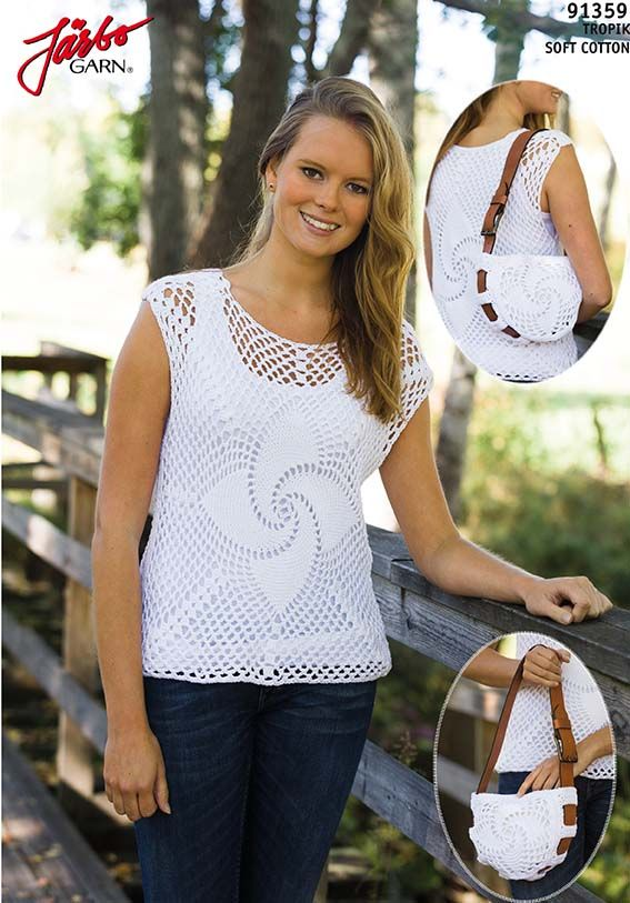 Neat bag with matching top.