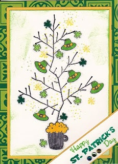 St. Patrick's Day- Stamps by Judith