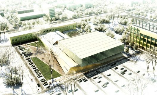 Wisła Krakow New Sports Centre Proposal / Estudio Lamela Polska,© Estudio Lamela Polska