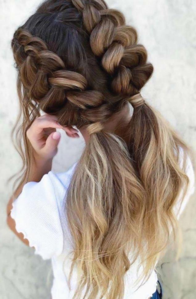 21 Cute Hairstyles For Church Braids In 2020 Dutch Braid Hairstyles Hair Styles Braided Hairstyles Easy